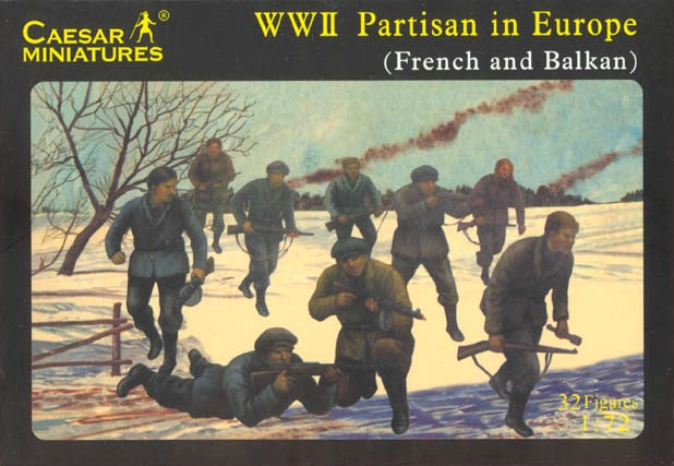 WWII Partisan in Europe (French and Balkan)