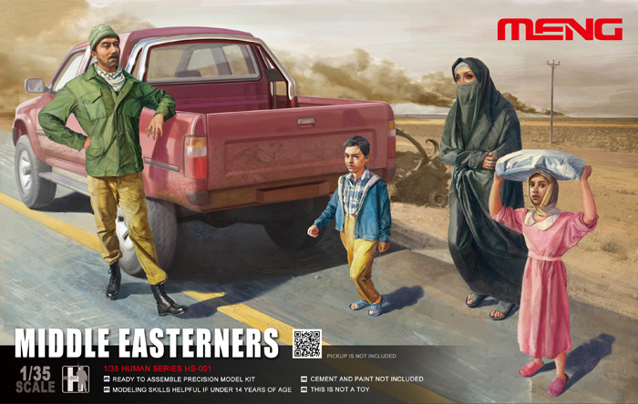 Middle Easterners in the Street