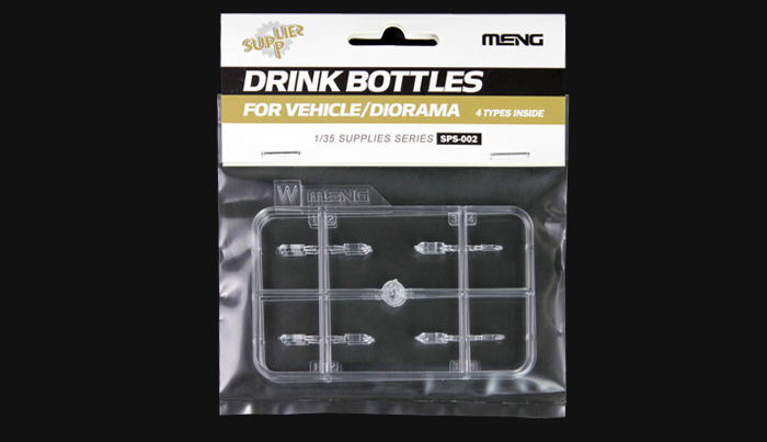 Drink Bottles for Vehicle/Diorama