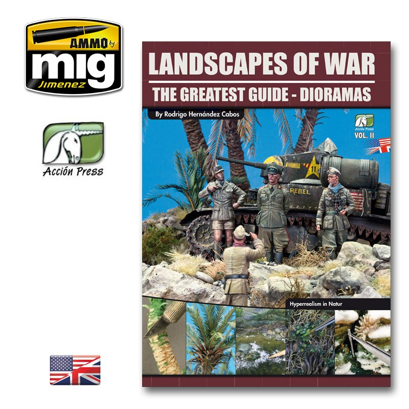 LANDSCAPES OF WAR: THE GREATEST GUIDE - DIORAMAS VOL.2 (ENG)