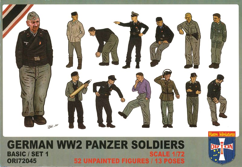 German WW2 Panzer Soldiers (Basic/Set 1)