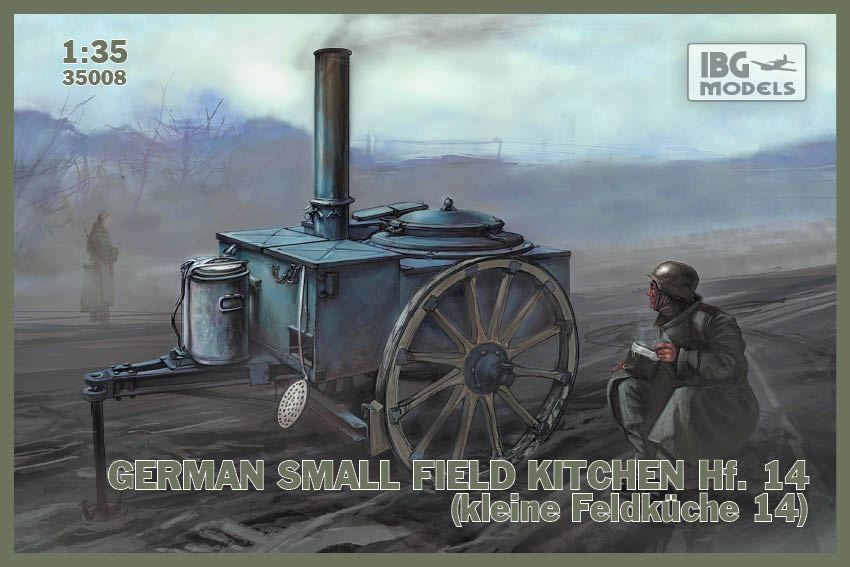 German small Field kitchen Hf. 14 (kleine Feldküche 14)