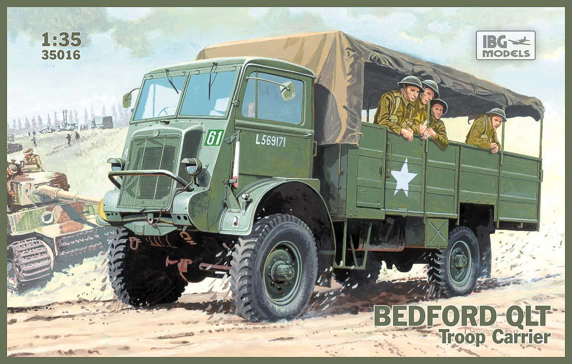 Bedford QLT Troop Carrier