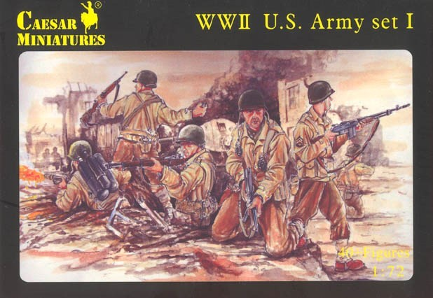 WWII US Army (Set 1)