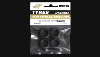 Tyres for Vehicle/Diorama (4ks)