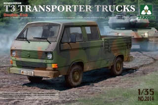 Bundeswehr T3 Transporter Trucks/ Double Cab