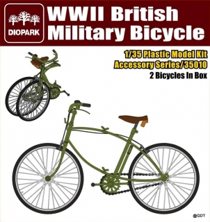 WWII British Military Bicycle - 2ks