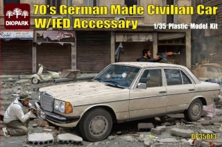 German Made Civilian Car w/IED Accessory