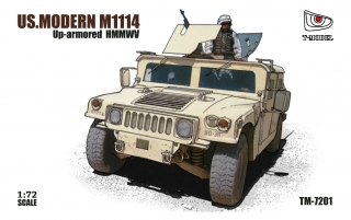 US. Modern HMMWV M1114, Up-armoured