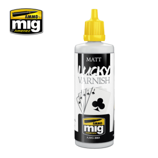 MATT LUCKY VARNISH / Matný lak (60 ml)