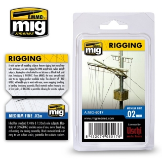 RIGGING - MEDIUM FINE 0,02mm