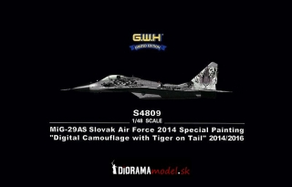 "MiG-29AS Slovak Air Force Special Painting ""Digital Camouflage"""