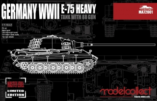 German E-75 Heavy Tank with 88 Gun