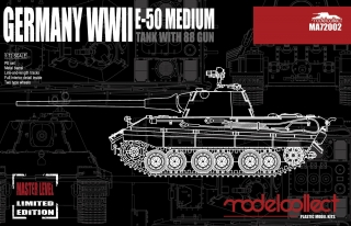 German E-50 Medium Tank with 88 Gun