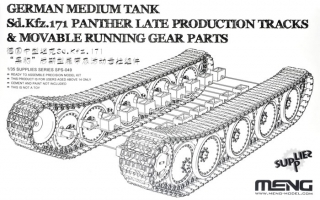 German Sd.Kfz.171 Panther (Late) Tracks & Movable Running Gear