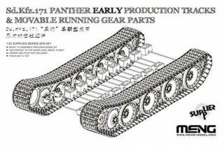 German Sd.Kfz.171 Panther (Early) Tracks & Movable Running Gear