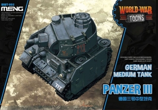 German Medium Tank Panzer III (Cartoon model)