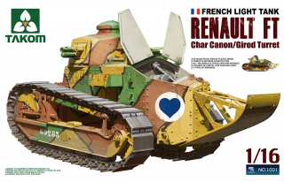Renault FT-17 Char Canon / Girod turret