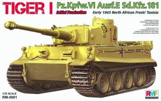 Tiger I Initial Production Early 1943, North African Front / Tunisia