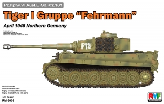 "Tiger I Gruppe ""Fehrmann"" April 1945 Northern Germany"