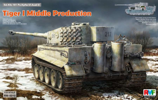 Tiger I Middle Production w/Full Interior (Otto Carius)