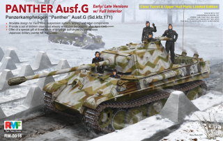 Panther Ausf.G w/ Interior - Limited Edition