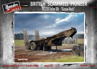 "Scammell Pioneer TRCU30 ""Goose-Neck"" trailer 30t"