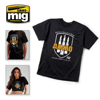"AMMO T-SHIRT - ""The Life Is a Box of AMMO... You Never Want It To Run Out!"""