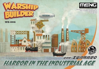 Warship Builder - Harbor In The Industrial Age (Cartoon model)