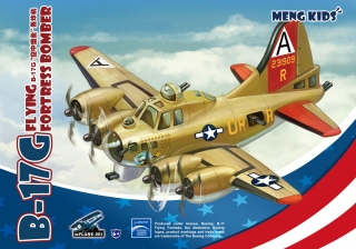 B-17G Flying Fortress Bomber (Cartoon model)