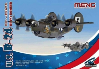 U.S. B-24 Heavy Bomber (Cartoon model)