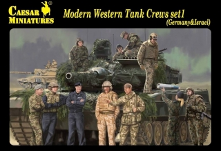 Modern Western Tank Crews Set 1 (Germany & Israel)