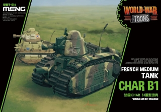 French Heavy Tank Char B1 (Cartoon model)