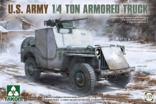US Army 1/4 ton armored  truck (Jeep)