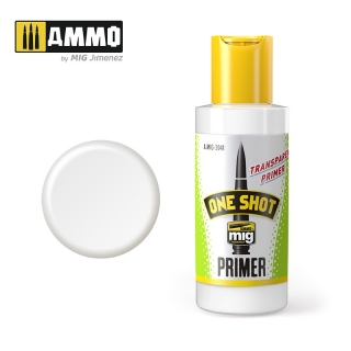 ONE SHOT PRIMER - TRANSPARENT