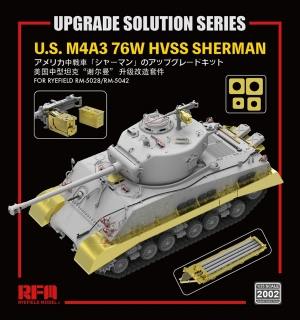 Upgrade Solution For M4A3 76W HVSS Sherman