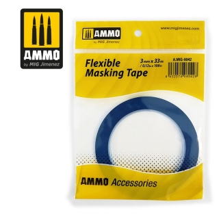 Flexible Masking Tape (3mm x 33m)