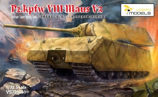 Pz.Kpfw. VIII Maus V2 - German Super Heavy Tank