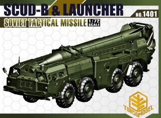 Scud B & Launcher, Soviet Tactical Missile