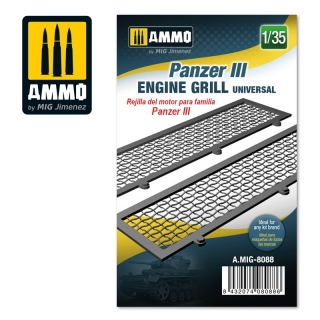 Panzer III engine grilles universal (1:35)