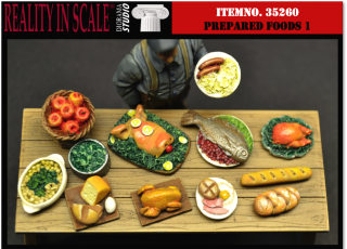 Prepared Foods Set 1 (12ks)