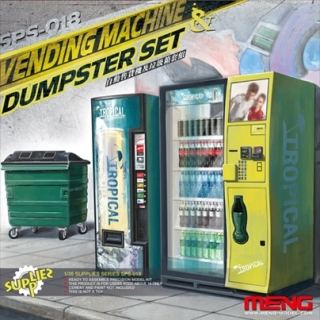 Vending Machine & Dumpster Set