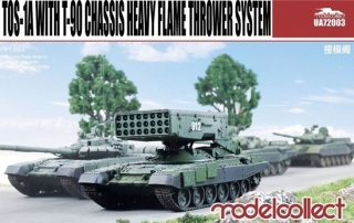 TOS-1A with T-90 Chassis Heavy Flame Thrower System
