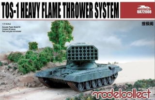 Soviet TOS-1 Heavy Flamethrower System