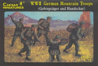 World War II German Mountain Troop