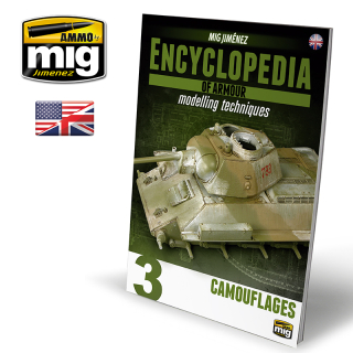 ENCYCLOPEDIA OF ARMOUR MODELLING TECHNIQUES VOL. 3 - CAMOUFLAGES (ENG)
