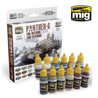PANTHER-G COLORS FOR INTERIORS & EXTERIORS (Special RMF)