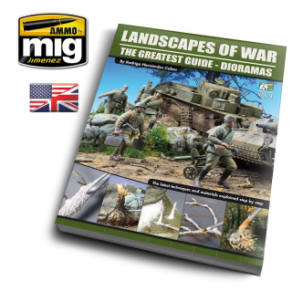 LANDSCAPES OF WAR: THE GREATEST GUIDE - DIORAMAS VOL.1 (ENG)